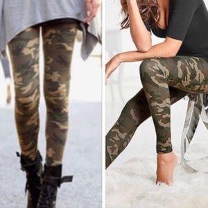 Pants - Camouflage women's high rise leggings